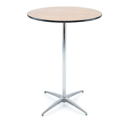 Tall cocktail bistro table rental for wedding, corporate or home event Grand Rapids, Grand Blanc and Traverse City Michigan