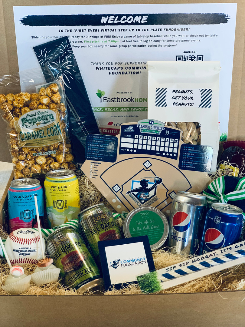 Sporting event virtual gift box
