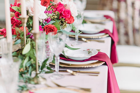 Wedding and Event Table linen rental in Grand Rapids, Grand Blan and Traverse City Michigan