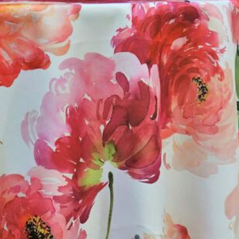 Spring Blossom Printed Poly