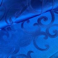 Royal Blue Chopin Damask
