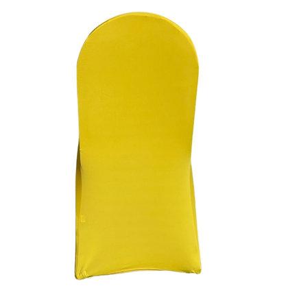 Yellow Spandex Chair Cover Rental near Grand Blanc, Grand Rapids, Traverse City