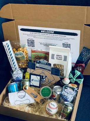 Whitecaps Baseball Virtual Fundraising Event Box