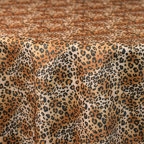 Leopard Printed Poly
