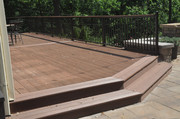 Composite Decking and Westbury Handrail