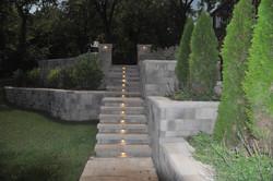 Tandem Wall Steps