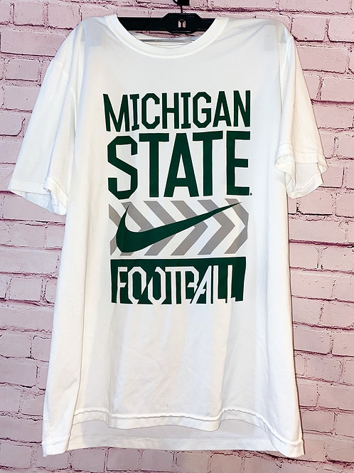 Michigan State Football Nike