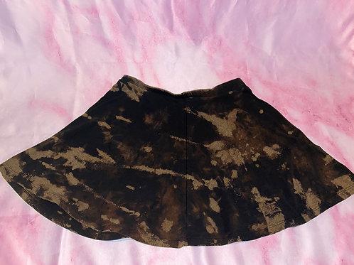 Bleached Skater Skirt