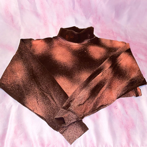 Bleached Brown Turtleneck