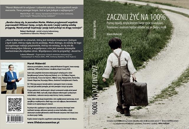 Okładka książki Zacznij Żyć na 100% Mare