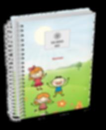 Agenda Escolar Infantil (Creche) Personalizada