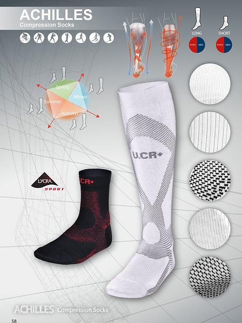 U.CR+ ACHI - long compression socks 阿基里斯機能壓力長襪