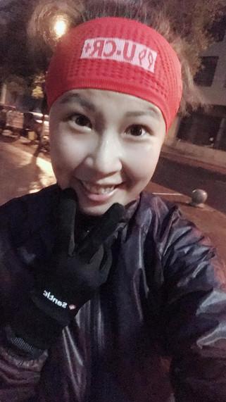 U.CR+ compression head scarf (large) 寬版運動頭巾