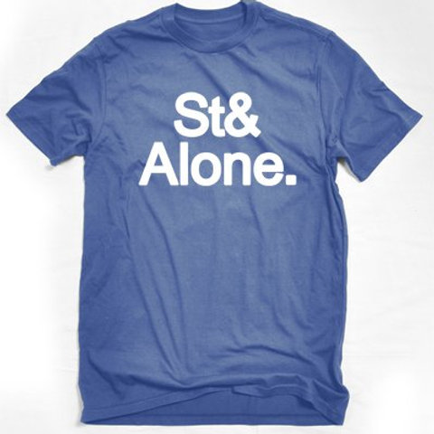 Stand Alone Blue Men's Tee