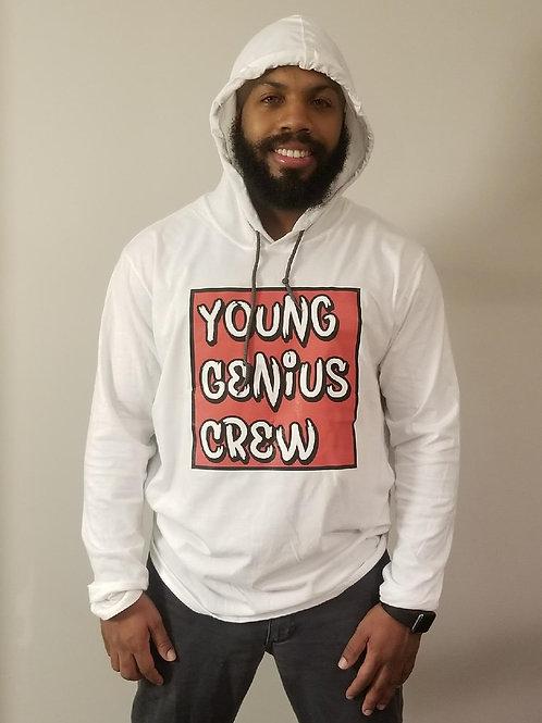 Young Genius Crew - Long Sleeve Hoodie