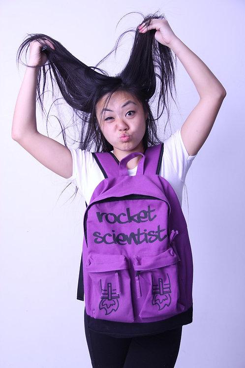 Rocket Scientist Backpack Purple