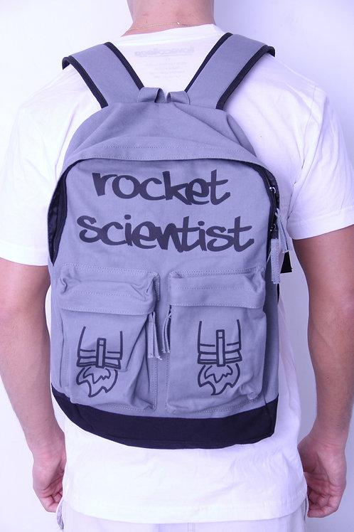 Rocket Scientist Backpack Gray