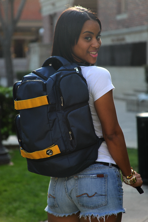 Skater Backpack Yellow