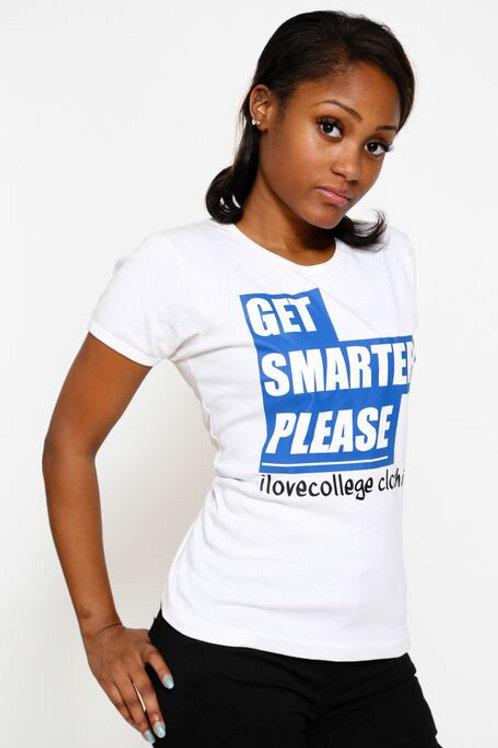 Get Smarter Please Women's Tee
