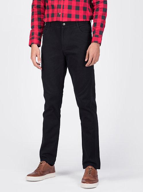 Black Jodhpur Cotton Jeans