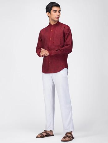 Handloom mens dress shirt