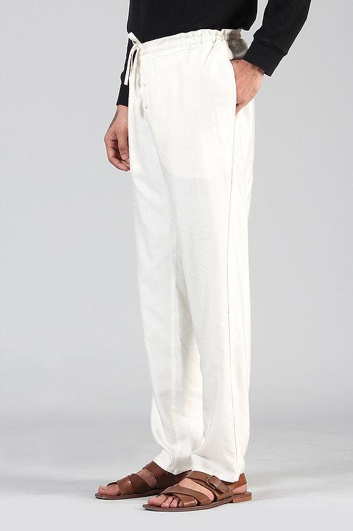 Ivory Ergo Pyjamas | Cotton Silk