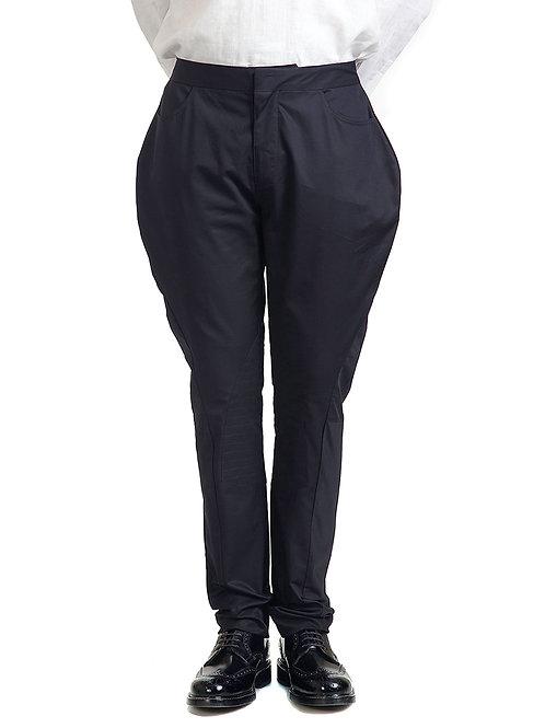 Black Classic Jodhpur Trousers