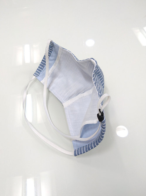 (3 Units) Filter Pocket Washable And Reusable Fitted Cloth Face Mask