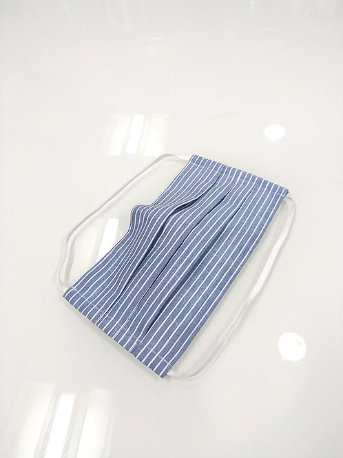 Flat-Fold W&R Cloth Face Mask With Filter Pocket (2 Units)