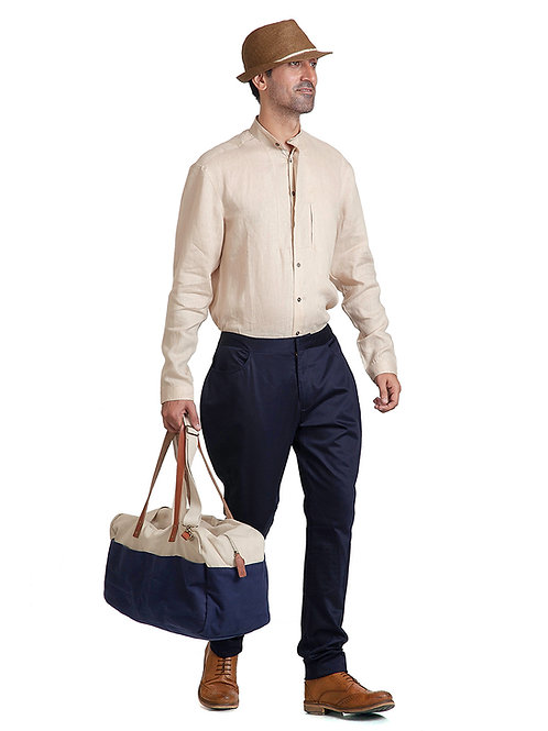 Navy Blue Classic Jodhpur Trousers