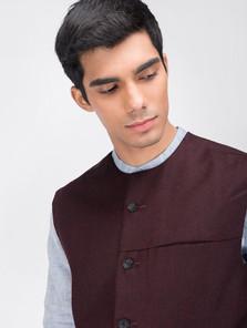 Nehru jacket by dhatu