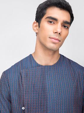 Blue kurta for men