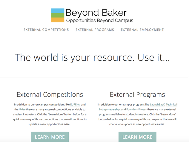 Beyond Baker