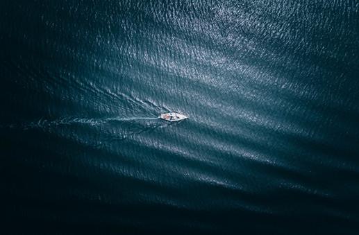 foto aerea Crociere Riviera del Conero
