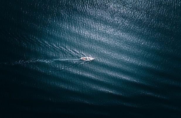 Aerial Boat Shot