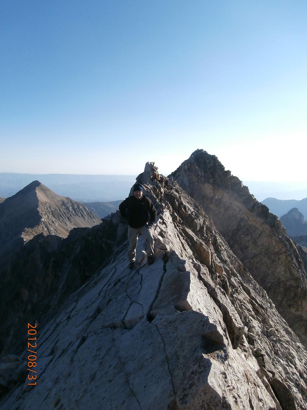 Capitol Peak, Fourteeners, 14ers, Aspen Colorado, Rocky Mountains, Backpacking, The Knife Edge