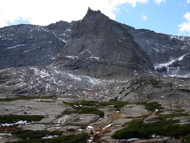 Spearhead,Black Lake, Mills Lake, Rocky Mountain National Park, Colorado, Rocky Mountains, Hiking, Backpacking