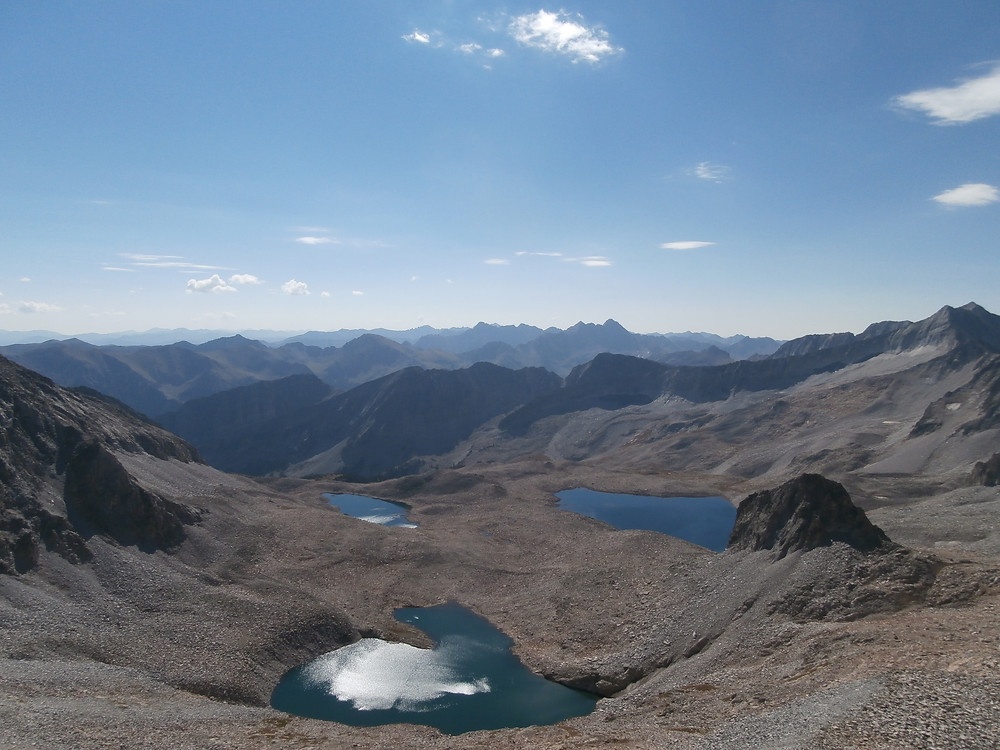 Capitol Peak, Fourteeners, 14ers, Aspen Colorado, Rocky Mountains, Backpacking, Pierre Lakes