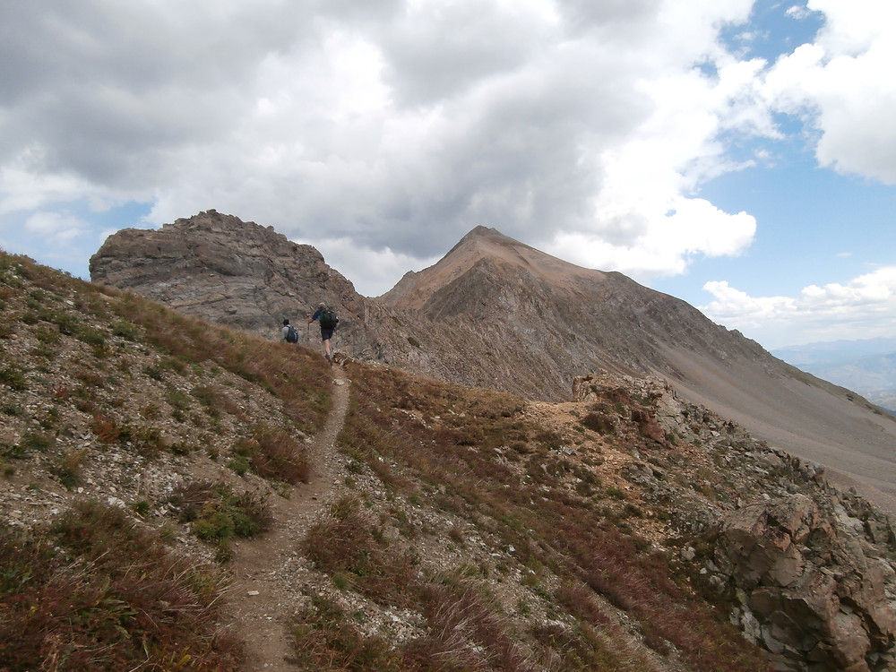 Capitol Peak, Mount Daly, Fourteeners, 14ers, Aspen Colorado, Rocky Mountains, Backpacking