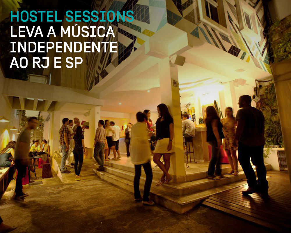[artístico] Oi FM Hostel Sessions