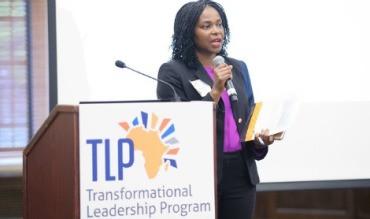 AAI PRESIDENT AMINI KAJUNJU SPEAKS ABOUT AAI'S TRANSFORMATIONAL LEADERSHIP PROGRAM (TLP).