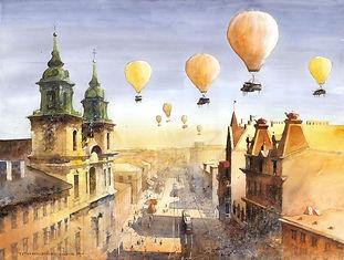 полет на воздушном шаре в Твери, полет на шаре, полет на аэростате