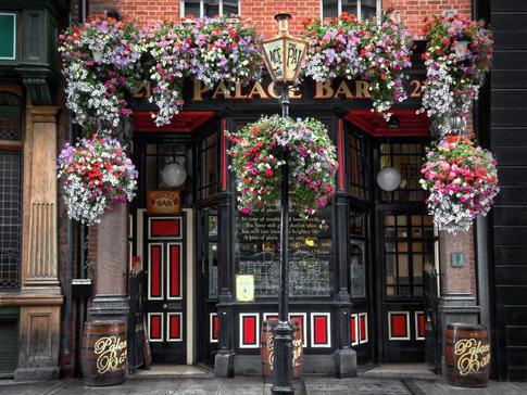 The Palace Bar in Dublin, Ireland