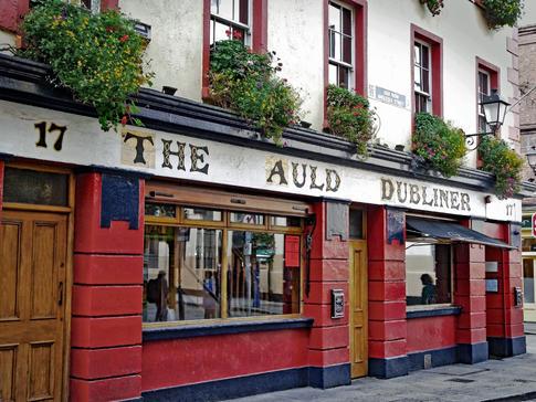 The Auld Dubliner in Dublin, Ireland