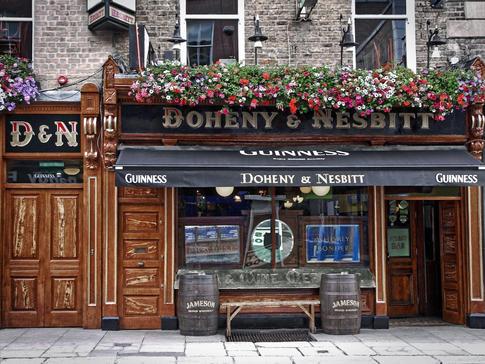 Doheny & Nesbitt in Dublin, Ireland
