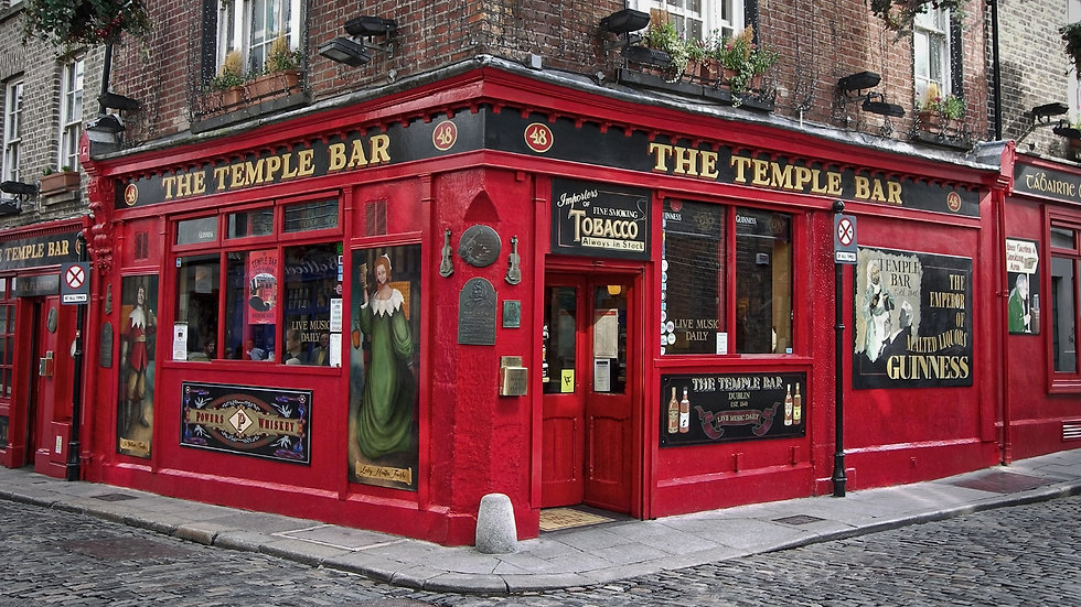 Photography - Pubs of Dublin Ireland - S
