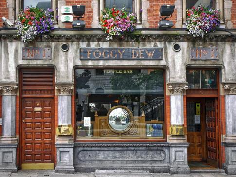 Foggy Dew in Dublin, Ireland