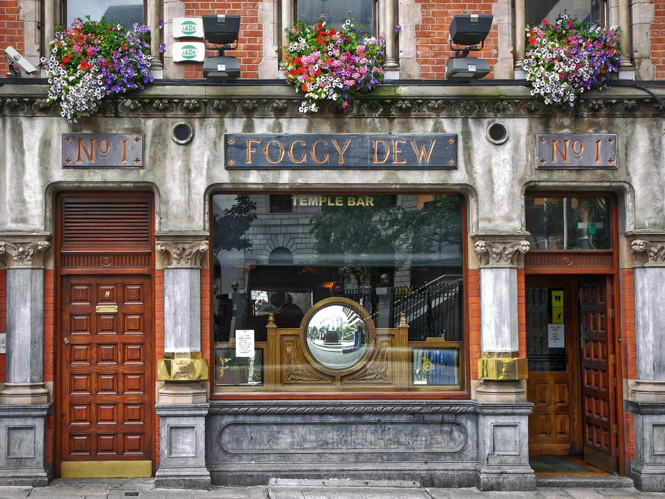 Foggy Dew in Dublin, Ireland