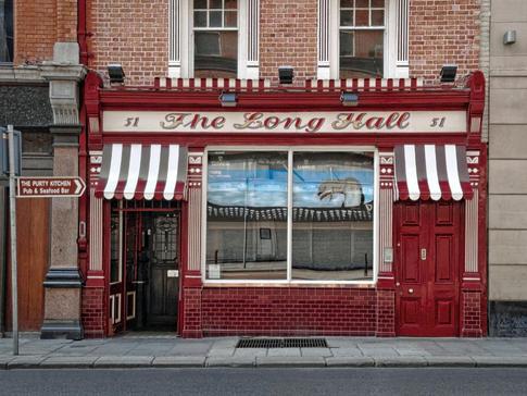 The Long Hall in Dublin, Ireland