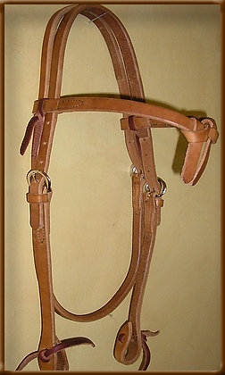 Browband Crossover Headstall
